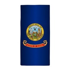 Idaho Flag Beach Towel