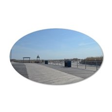 Atlantic City Boardwalk and Dunes Wall Decal