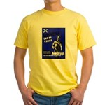 Stop Gonorrhea VD Yellow T-Shirt