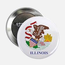 """Illinois (F15) 2.25"""" Button"""