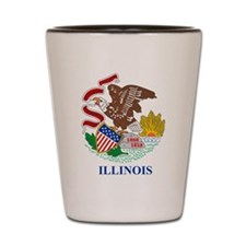 Illinois (F15) Shot Glass