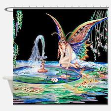 Tsanya Fountain of Love Shower Curtain