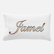 Gold Jamel Pillow Case