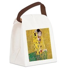 Klimt The Kiss Lovers Canvas Lunch Bag