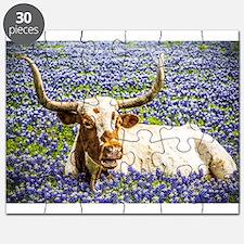Unique Texas longhorns Puzzle