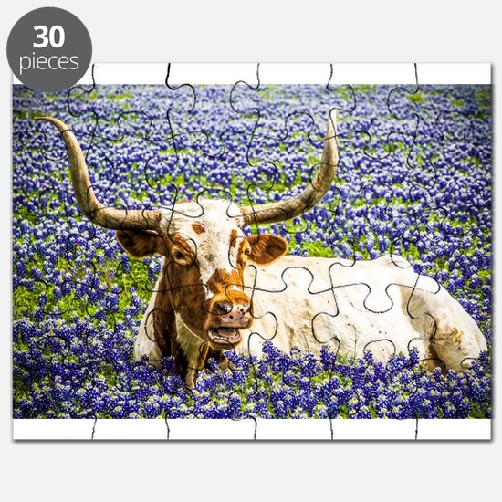 Funny Texas longhorns Puzzle