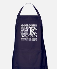 Cute Kindergarten Apron (dark)