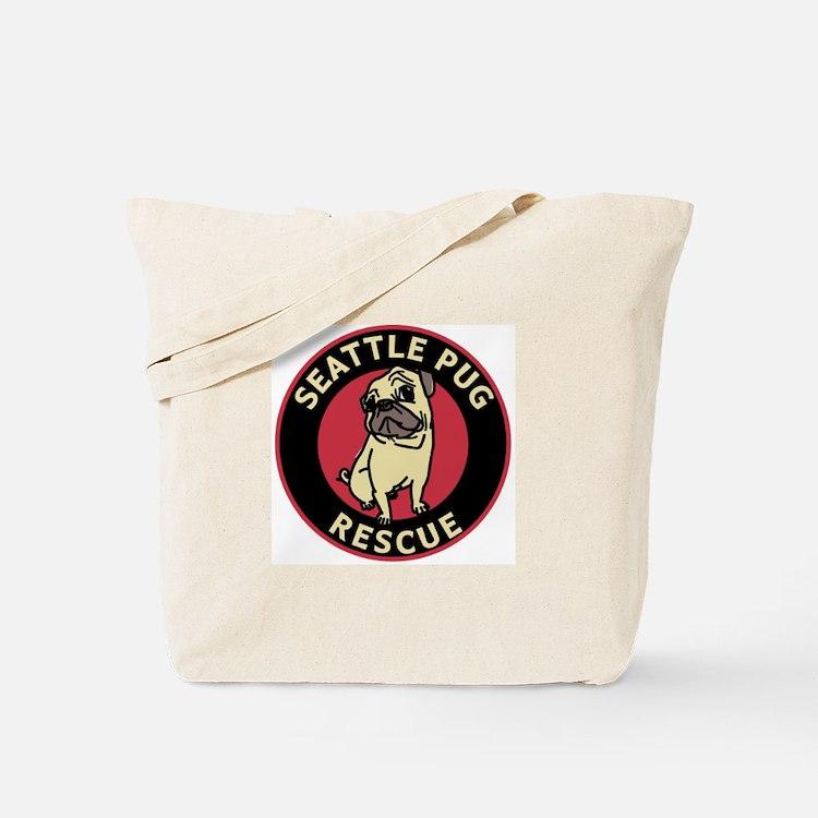 Spr Logo - Black Red Tote Bag