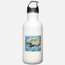 Striped Tropical Fish Water Bottle