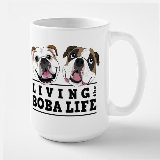 Living the Boba life vertical Mugs
