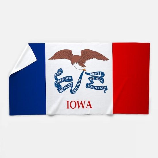 Iowa (F15)b Beach Towel