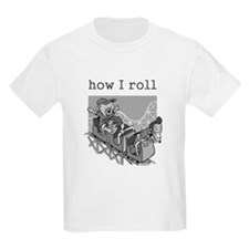 How I Roll (Rollercoaster) T-Shirt