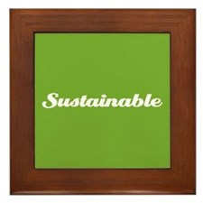Sustainable Framed Tile