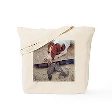 Quail Dog Tote Bag