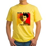 Race equality Mens Classic Yellow T-Shirts