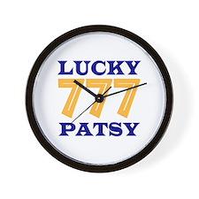 Lucky Patsy Wall Clock
