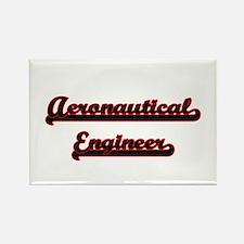 Aeronautical Engineer Classic Job Design Magnets