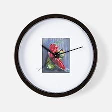 Love Chili's Wall Clock