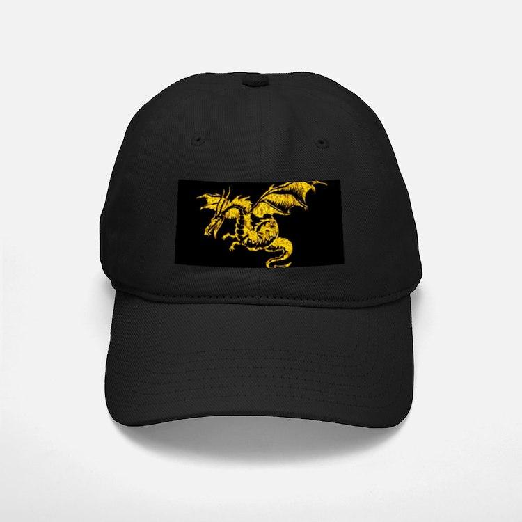 Golden Dragon Baseball Hat