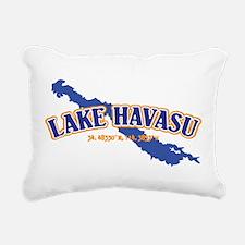 Lake Havasu Rectangular Canvas Pillow