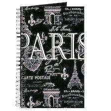 Paris Black and White Journal