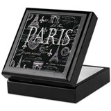 Paris Keepsake Boxes