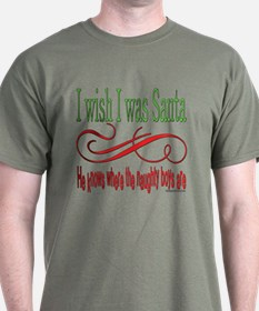 I Wish I Was Santa Claus T-Shirt