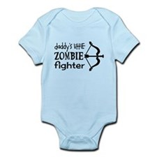 Daddy's Little Zombie Fighter Body Suit