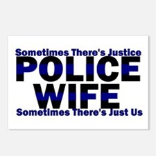 PoliceWives Justice Postcards (Package of 8)