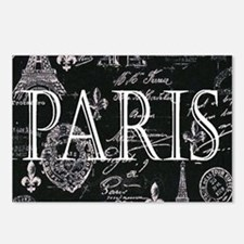 Paris Black and White Postcards (Package of 8)