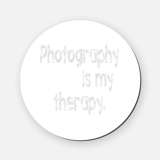 Photography is My Therapy Cork Coaster