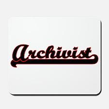 Archivist Classic Job Design Mousepad