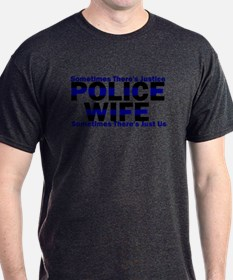 PoliceWives Justice T-Shirt