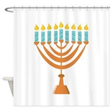 Menorrah Shower Curtain