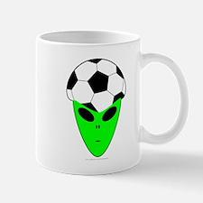 ALIEN SOCCER HEAD Mug
