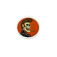Psychobilly T Shirt Or.png Mini Button