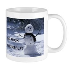 GFY Snowman Mug