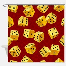 Dice Shower Curtain
