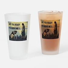 CRUSADER Drinking Glass