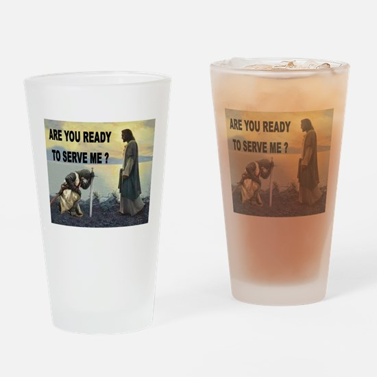 CRUSADER Drinking Glass