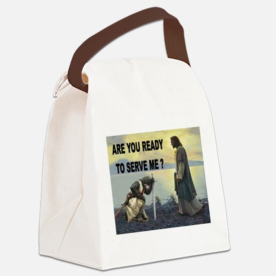 CRUSADER Canvas Lunch Bag