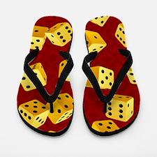 Dice Flip Flops