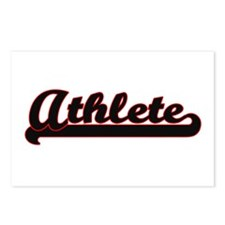Athlete Classic Job Desig Postcards (Package of 8)