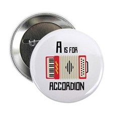 """A For Accordion 2.25"""" Button (100 pack)"""
