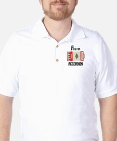 A For Accordion T-Shirt