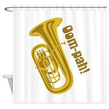 Oom-pah Shower Curtain