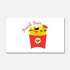 French Fries Car Magnet 20 x 12