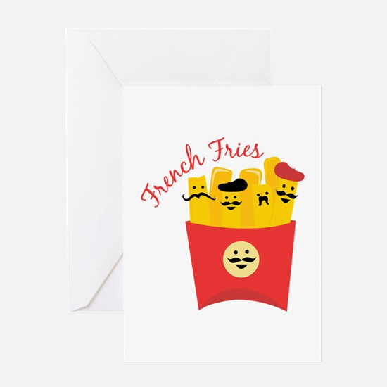 French Fries Greeting Cards