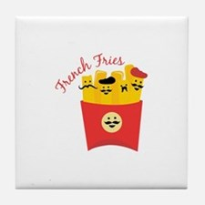 French Fries Tile Coaster