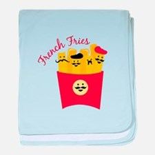 French Fries baby blanket